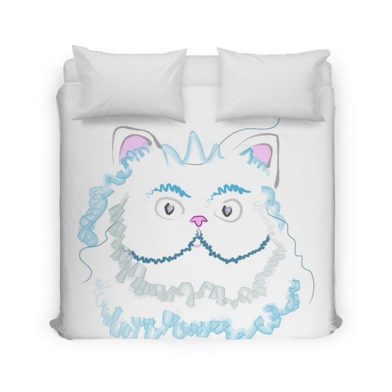 Cat is my BF Home Duvet by BalanLevin's Artist Shop