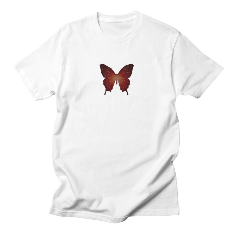Butterfly  Men's Regular T-Shirt by BalanLevin's Artist Shop