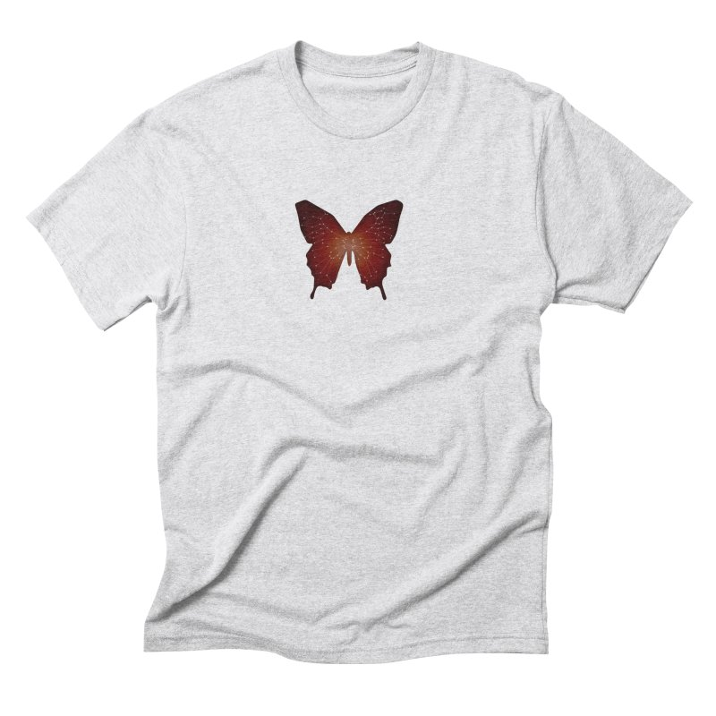 Butterfly  Men's Triblend T-Shirt by BalanLevin's Artist Shop
