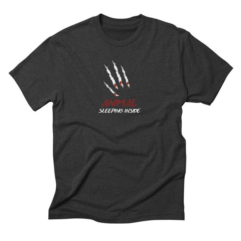 Animal Inside Men's Triblend T-shirt by BalanLevin's Artist Shop