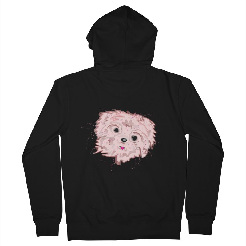 shih tzu Men's Zip-Up Hoody by BalanLevin's Artist Shop