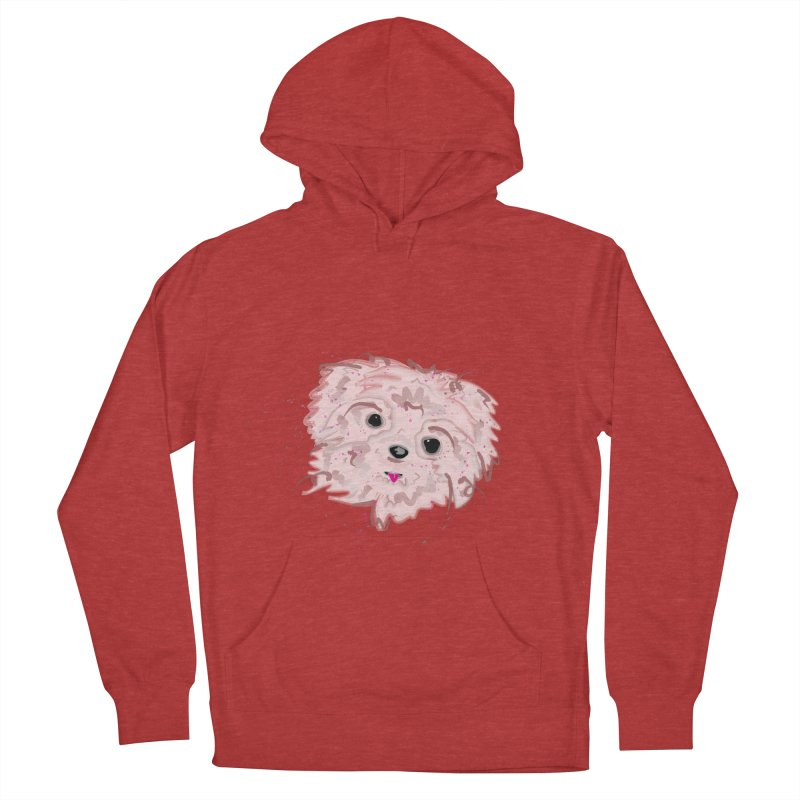 shih tzu Men's French Terry Pullover Hoody by BalanLevin's Artist Shop