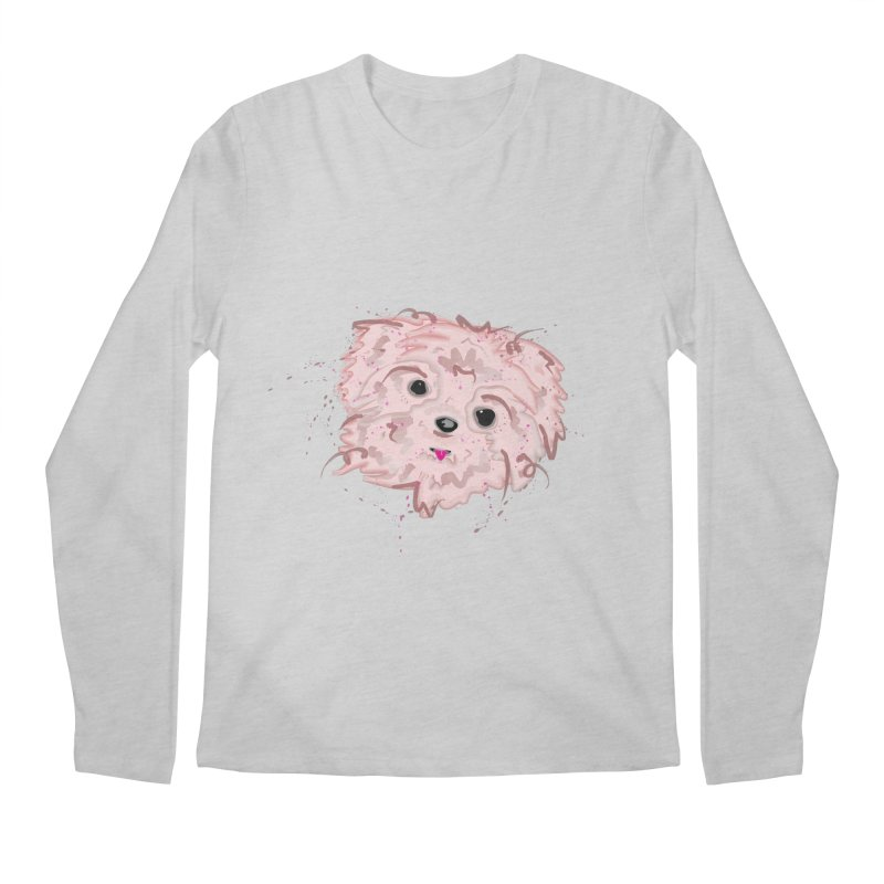 shih tzu Men's Longsleeve T-Shirt by BalanLevin's Artist Shop