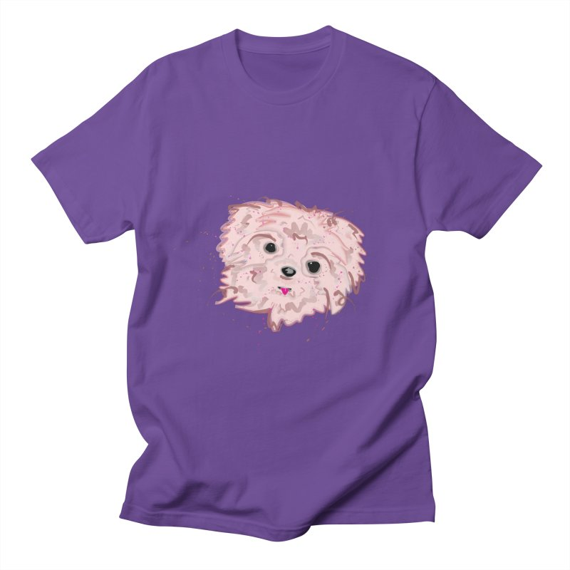 shih tzu Men's Regular T-Shirt by BalanLevin's Artist Shop