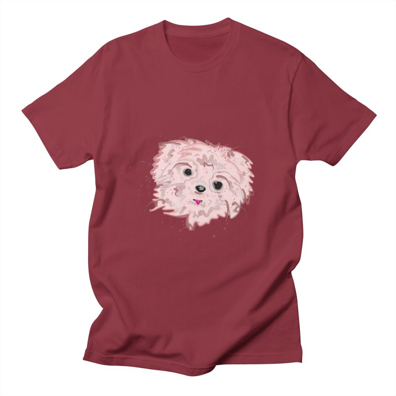 shih tzu Men's Regular T-Shirt by BalanLevin's Artist Shop