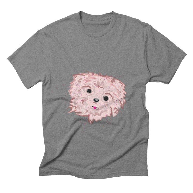 shih tzu Men's Triblend T-shirt by BalanLevin's Artist Shop