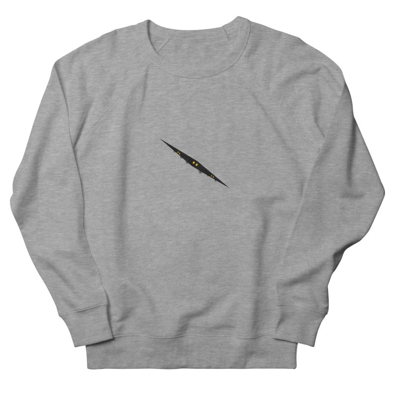 creepy Men's French Terry Sweatshirt by BalanLevin's Artist Shop
