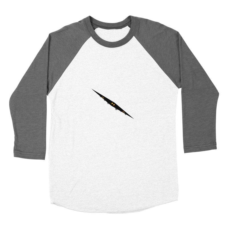 creepy Men's Baseball Triblend Longsleeve T-Shirt by BalanLevin's Artist Shop