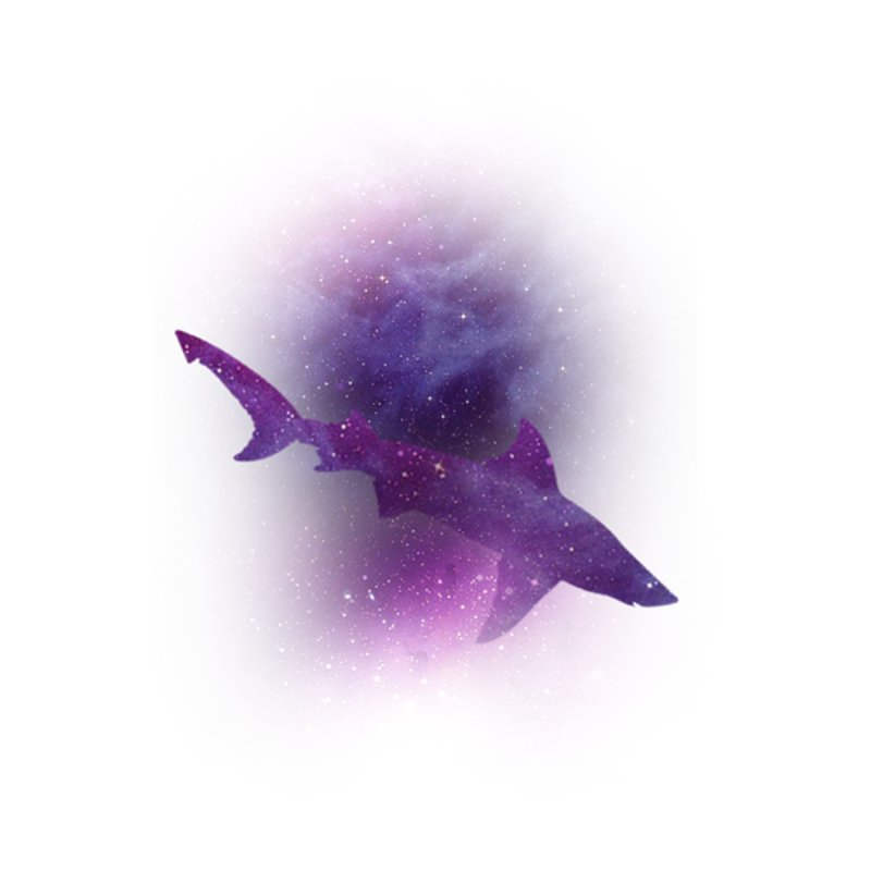 Galaxy Shark  by BalanLevin's Artist Shop