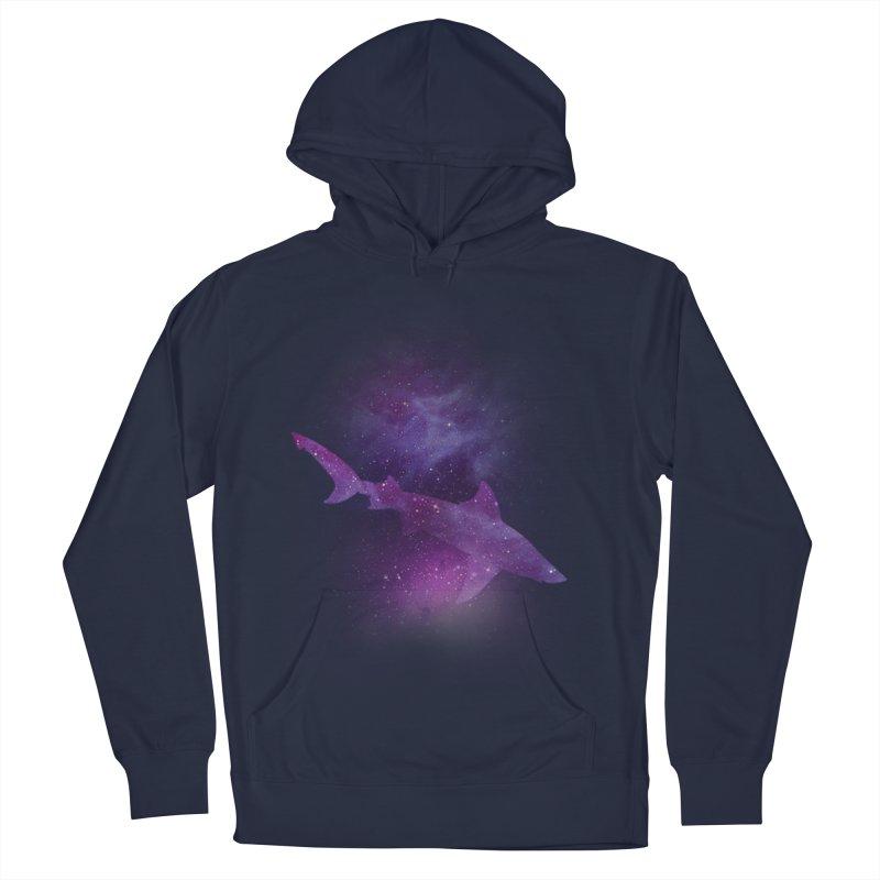 Galaxy Shark  Men's Pullover Hoody by BalanLevin's Artist Shop