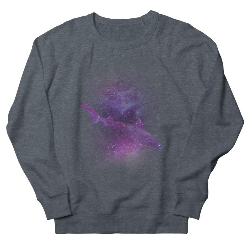Galaxy Shark  Men's Sweatshirt by BalanLevin's Artist Shop