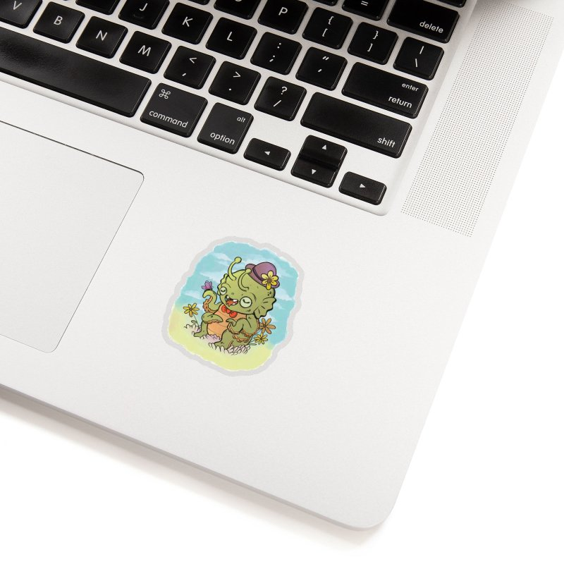 Earth is Lovely Accessories Sticker by CUTE CRAP 4 SALE