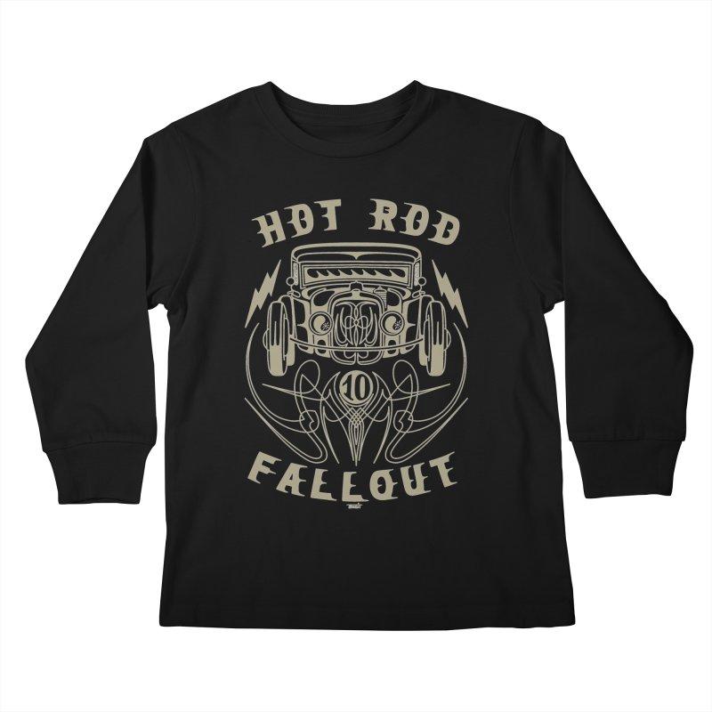Fallout Kids Longsleeve T-Shirt by Bandit Pinstriping's Artist Shop