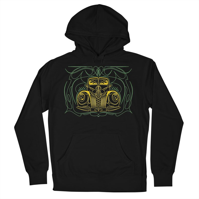 '40 Ford Men's French Terry Pullover Hoody by Bandit Pinstriping's Artist Shop