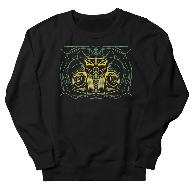 '40 Ford Men's French Terry Sweatshirt by Bandit Pinstriping's Artist Shop