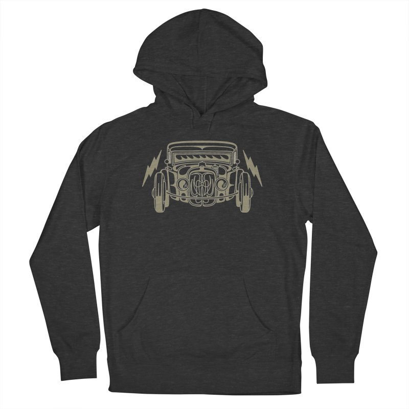 coupe Women's French Terry Pullover Hoody by Bandit Pinstriping's Artist Shop