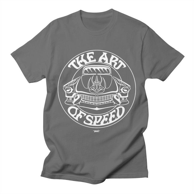 Art of Speed (white) Men's T-Shirt by Bandit Pinstriping's Artist Shop
