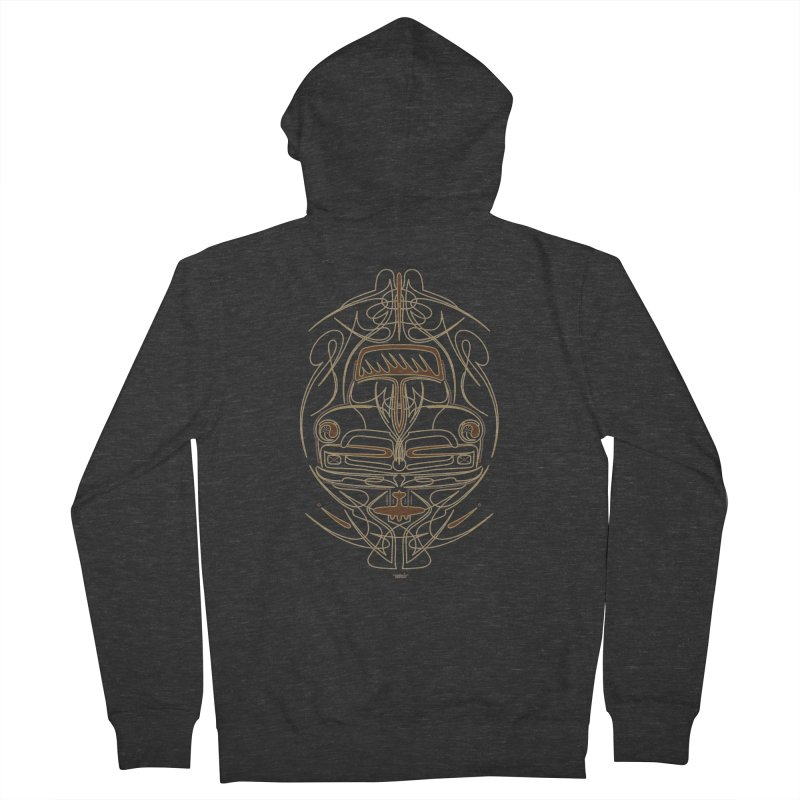 pickup Women's French Terry Zip-Up Hoody by Bandit Pinstriping's Artist Shop