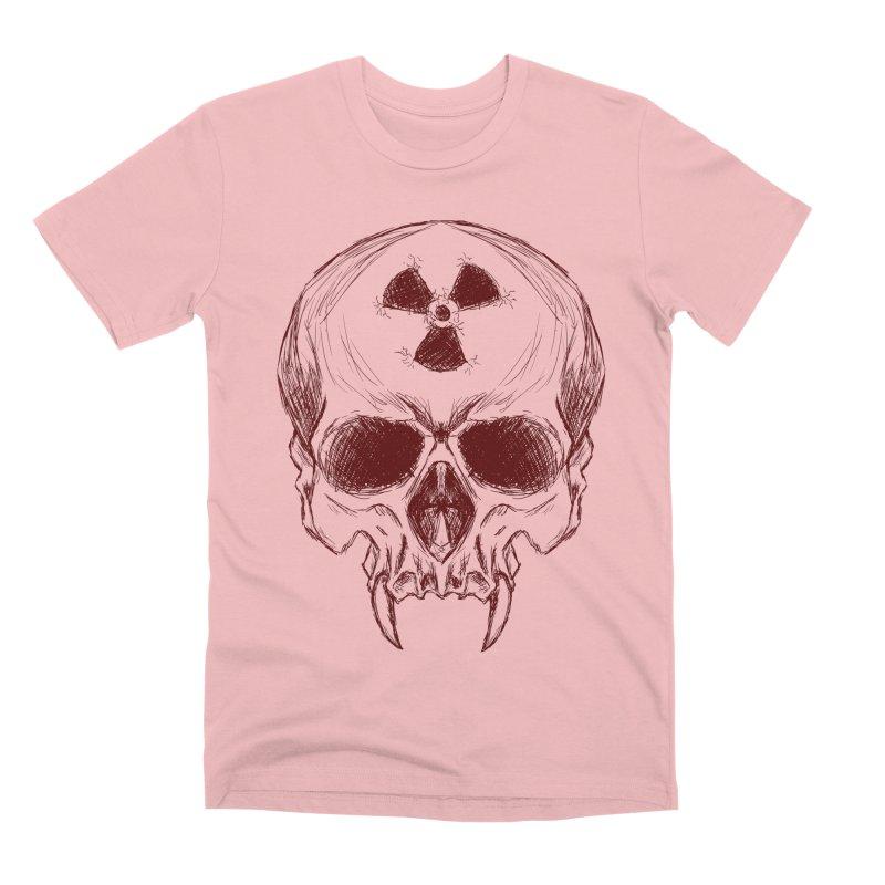 Night Shift Vampire Outline Dark Men's Premium T-Shirt by Bandit Bots