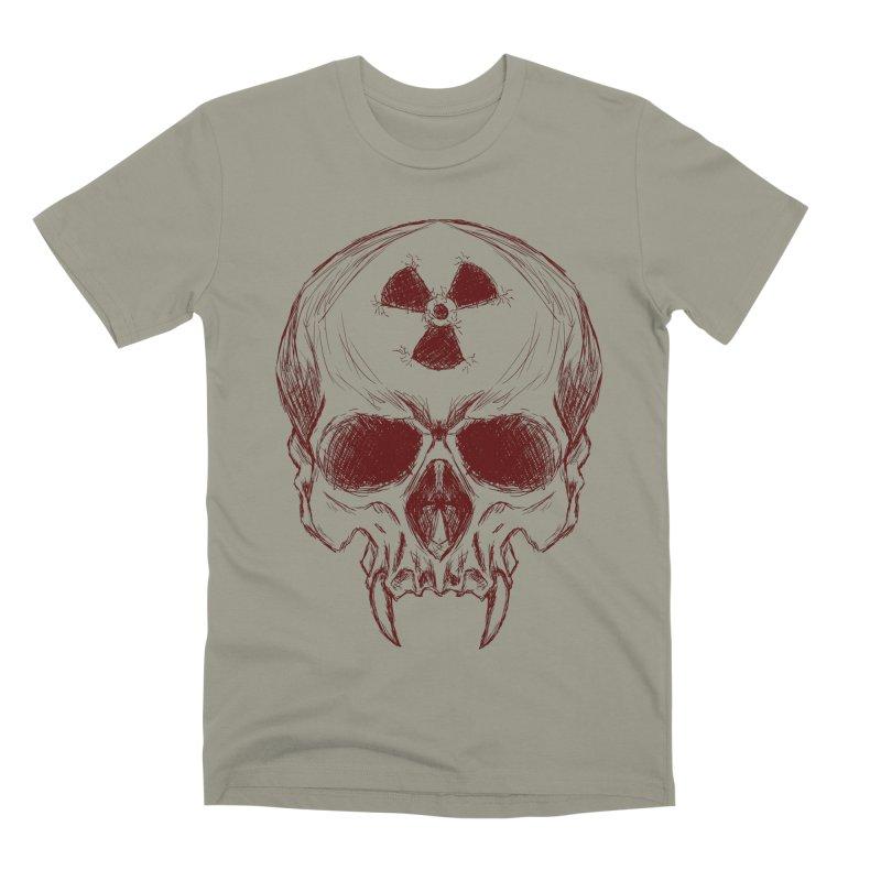 Night Shift Vampire Outline Dark Men's T-Shirt by Bandit Bots