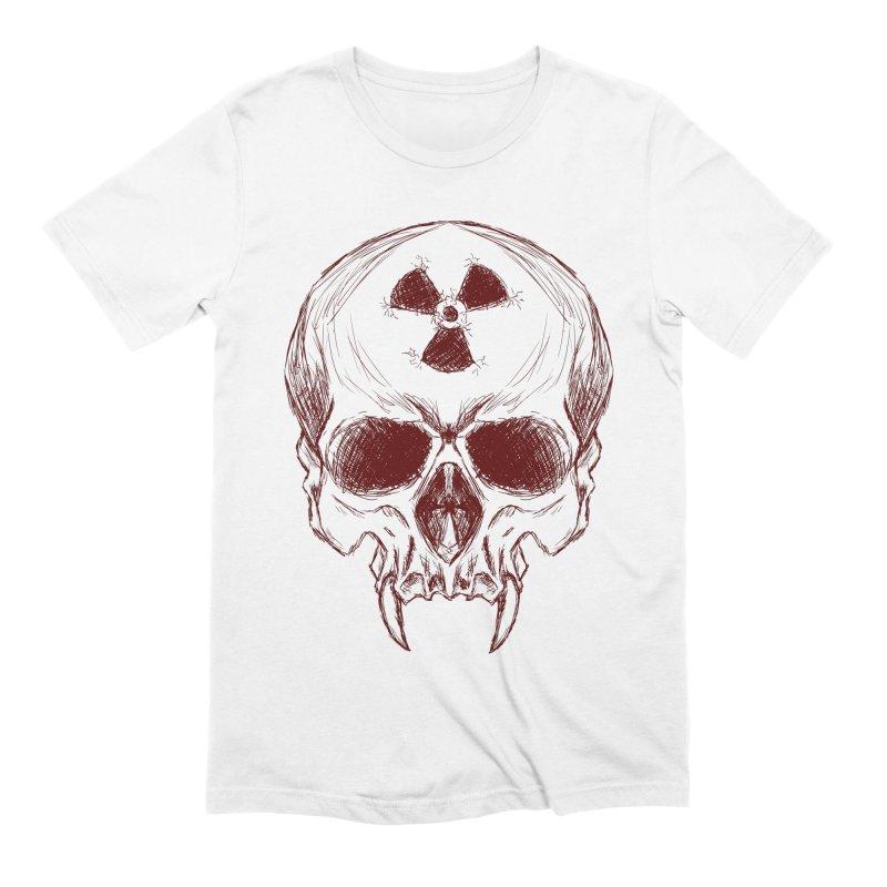 Night Shift Vampire Outline Dark Men's Extra Soft T-Shirt by Bandit Bots