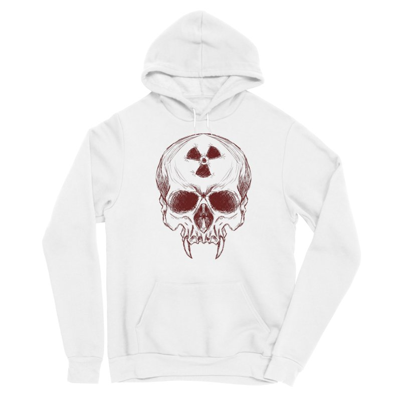 Night Shift Vampire Outline Dark Men's Pullover Hoody by Bandit Bots