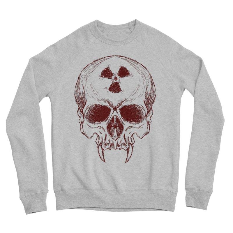 Night Shift Vampire Outline Dark Women's Sponge Fleece Sweatshirt by Bandit Bots