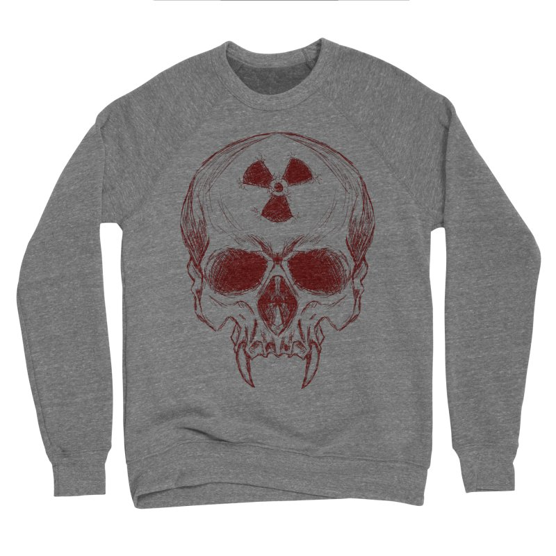 Night Shift Vampire Outline Dark Men's Sweatshirt by Bandit Bots