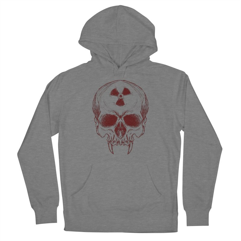 Night Shift Vampire Outline Dark Men's French Terry Pullover Hoody by Bandit Bots