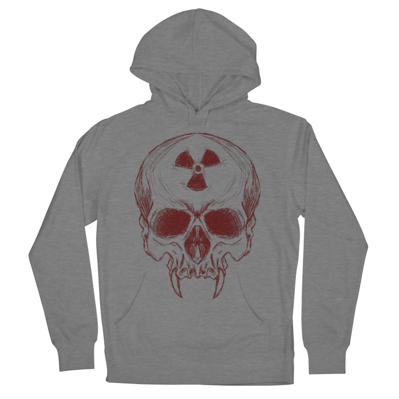 Night Shift Vampire Outline Dark Women's French Terry Pullover Hoody by Bandit Bots