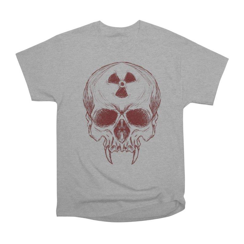 Night Shift Vampire Outline Dark Women's Heavyweight Unisex T-Shirt by Bandit Bots