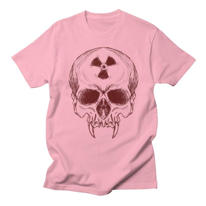 Night Shift Vampire Outline Dark Men's Regular T-Shirt by Bandit Bots