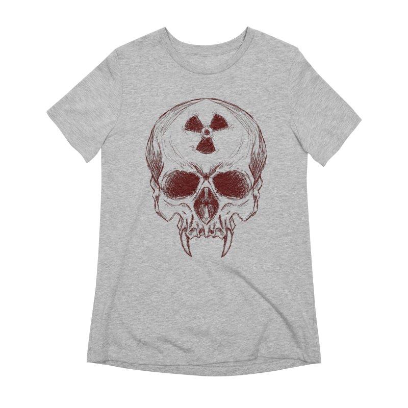 Night Shift Vampire Outline Dark Women's T-Shirt by Bandit Bots