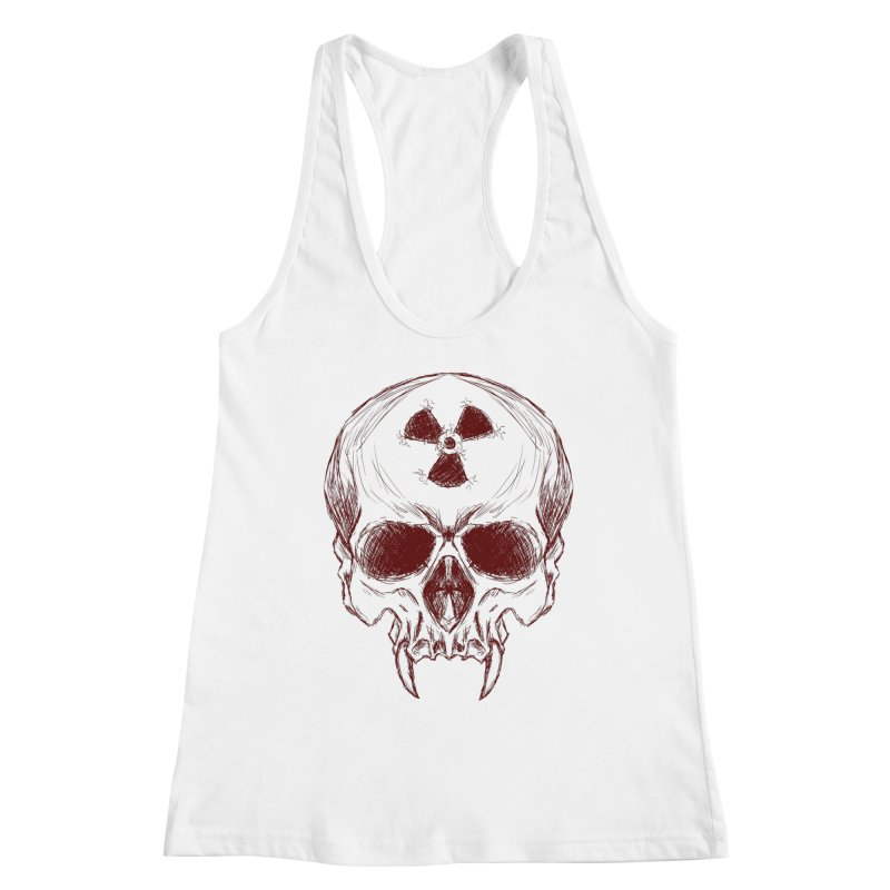 Night Shift Vampire Outline Dark Women's Tank by Bandit Bots