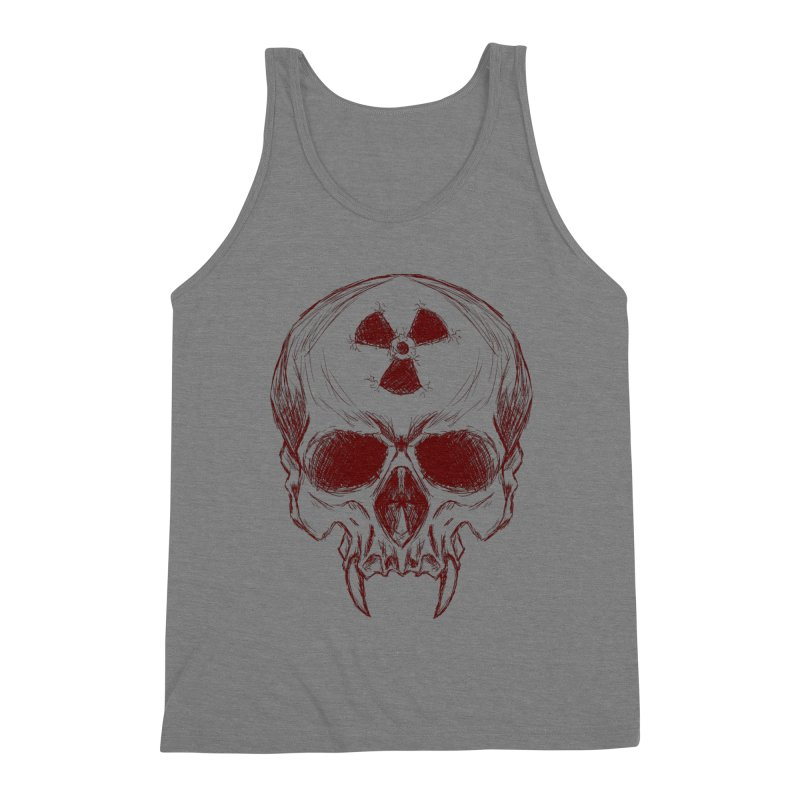 Night Shift Vampire Outline Dark Men's Tank by Bandit Bots
