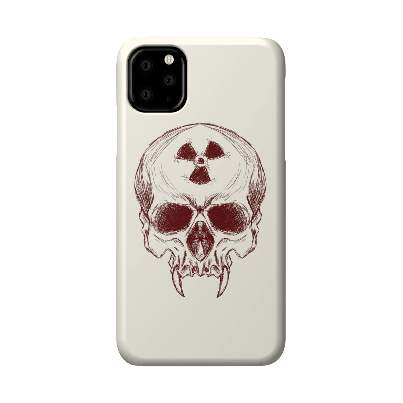 Night Shift Vampire Outline Dark Accessories Phone Case by Bandit Bots
