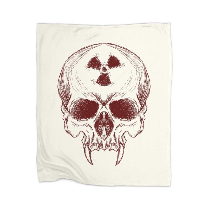 Night Shift Vampire Outline Dark Home Blanket by Bandit Bots