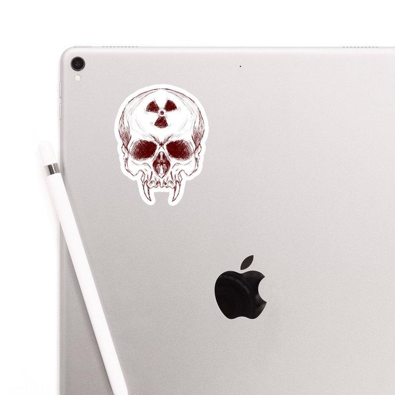Night Shift Vampire Outline Dark Accessories Sticker by Bandit Bots