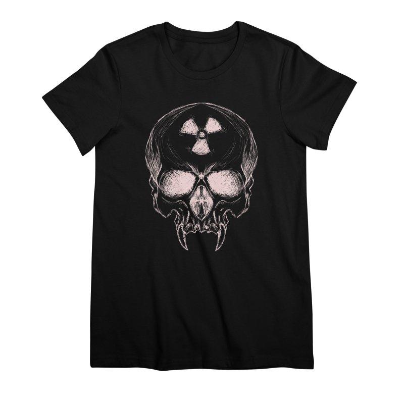 Night Shift Vampire Outline Light Women's Premium T-Shirt by Bandit Bots