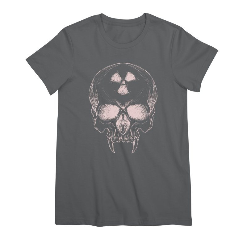 Night Shift Vampire Outline Light Women's Premium T-Shirt by Bandit Bots