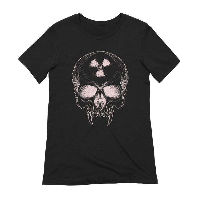 Night Shift Vampire Outline Light Women's Extra Soft T-Shirt by Bandit Bots