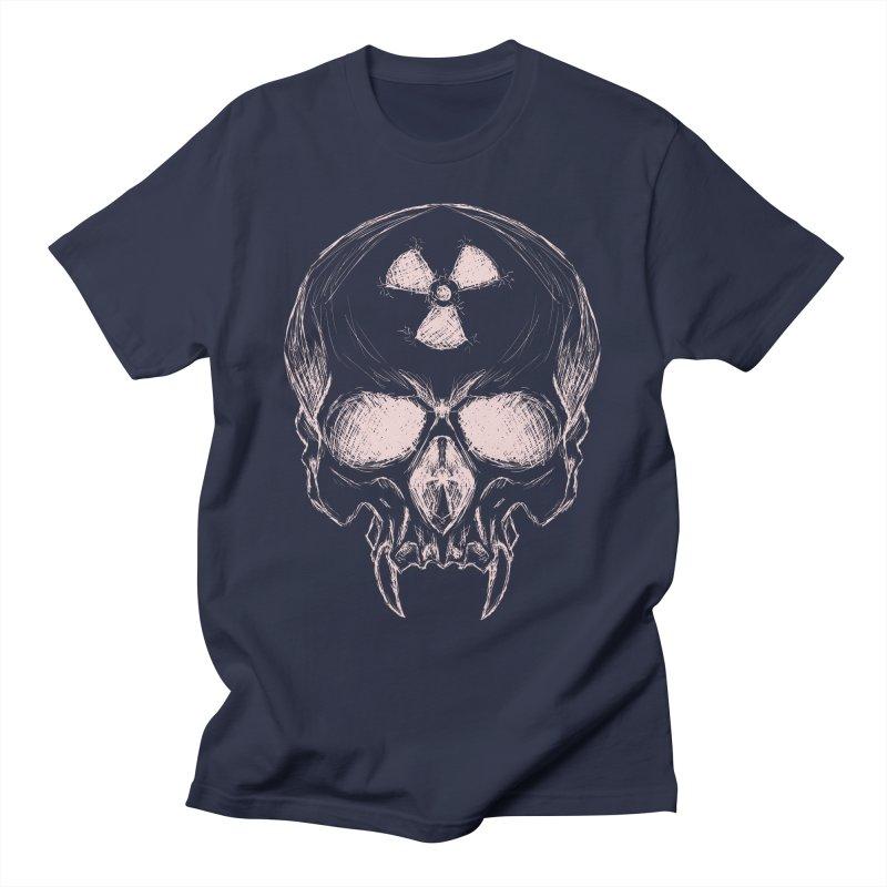 Night Shift Vampire Outline Light Men's T-Shirt by Bandit Bots