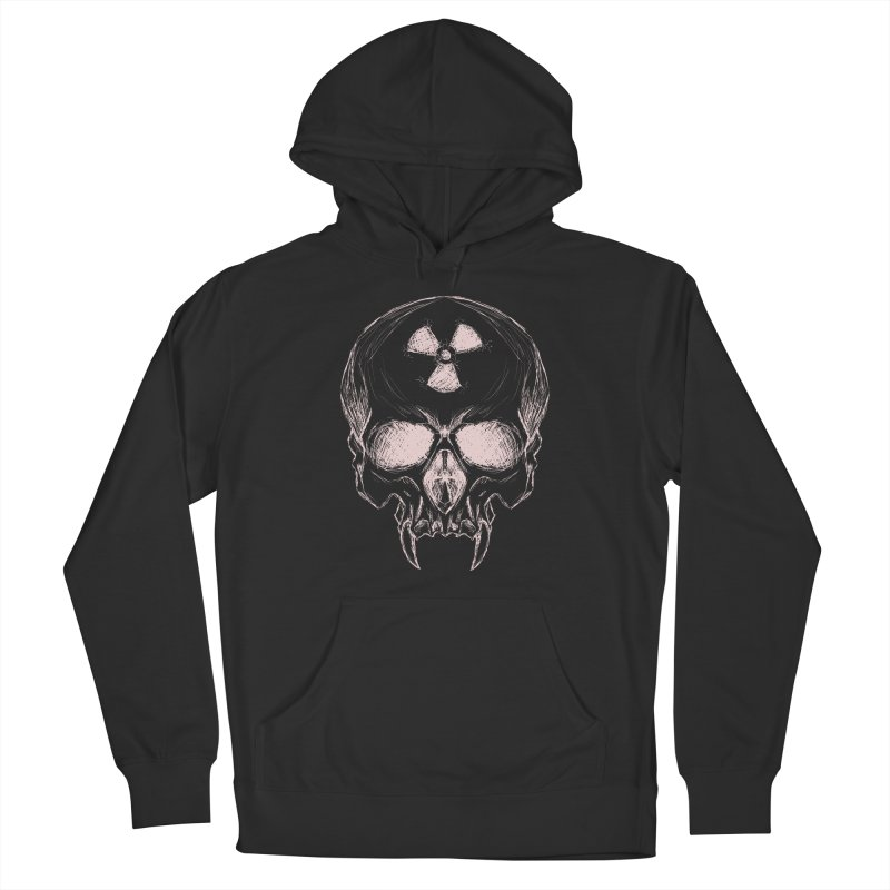 Night Shift Vampire Outline Light Women's Pullover Hoody by Bandit Bots