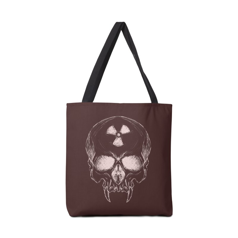 Night Shift Vampire Outline Light Accessories Bag by Bandit Bots
