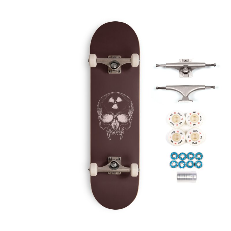 Night Shift Vampire Outline Light Accessories Complete - Premium Skateboard by Bandit Bots