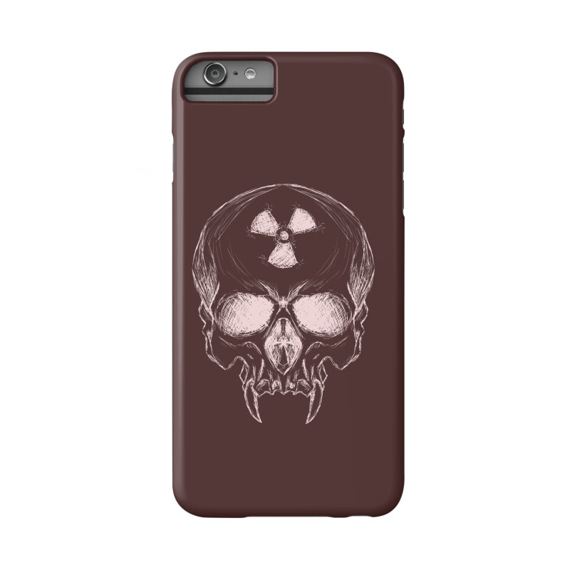 Night Shift Vampire Outline Light Accessories Phone Case by Bandit Bots