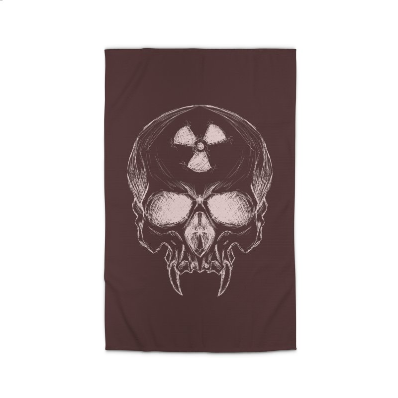 Night Shift Vampire Outline Light Home Rug by Bandit Bots