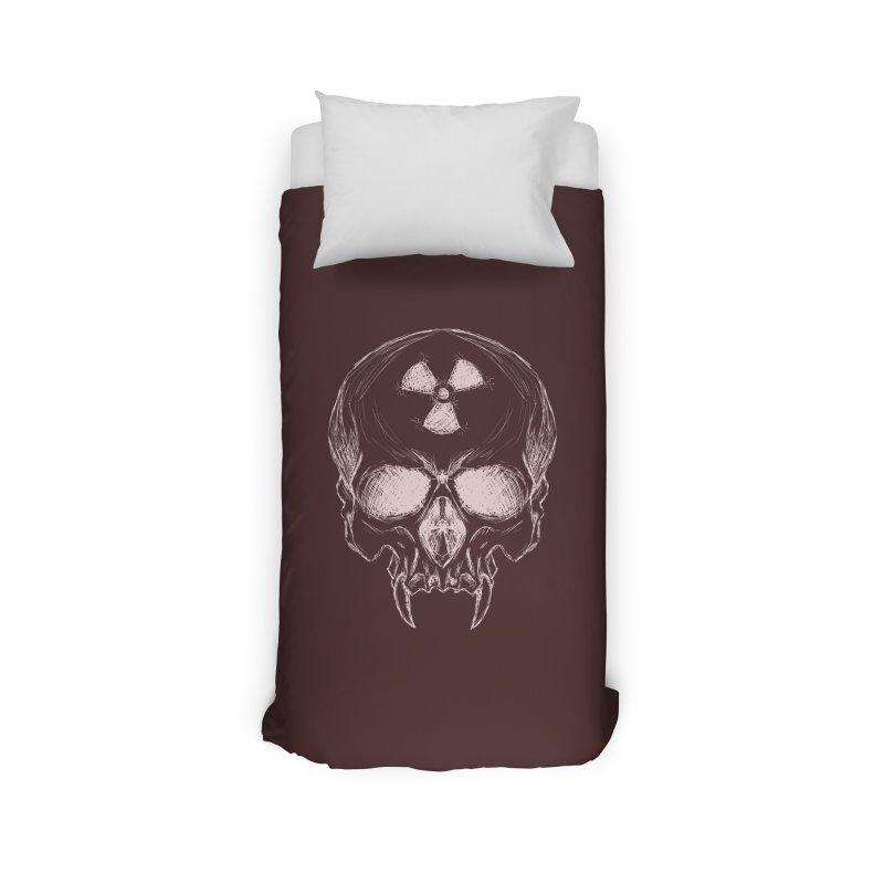 Night Shift Vampire Outline Light Home Duvet by Bandit Bots