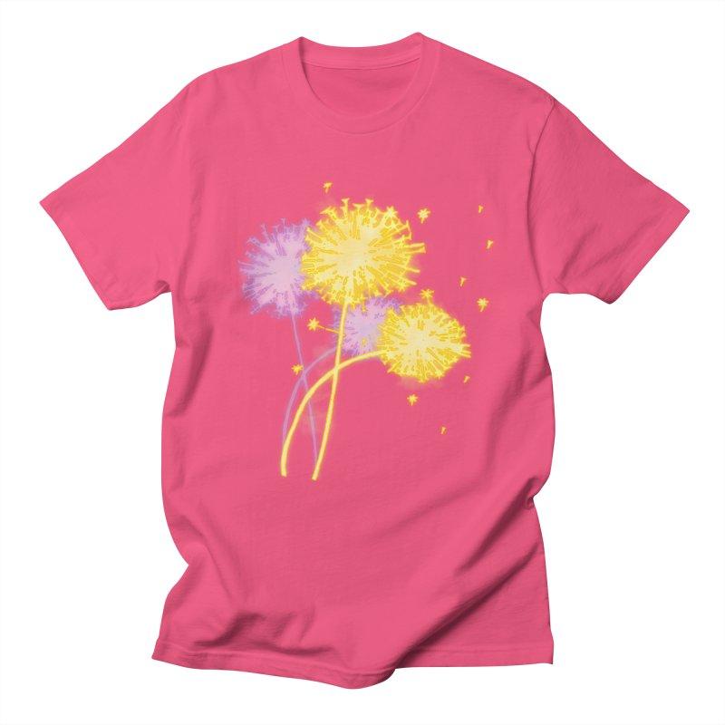 Dandelion Dreams Men's T-Shirt by Bandit Bots