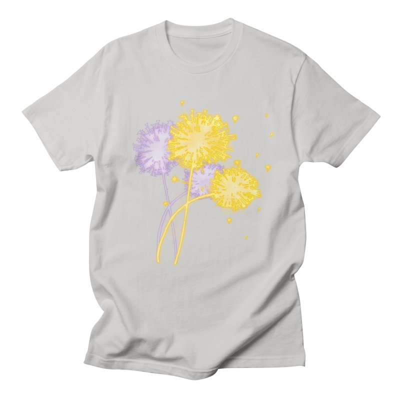 Dandelion Dreams Men's T-Shirt by Bandit Bots